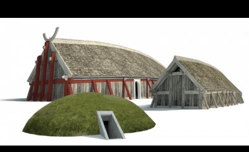 kongehal i sagnlandet Lejre