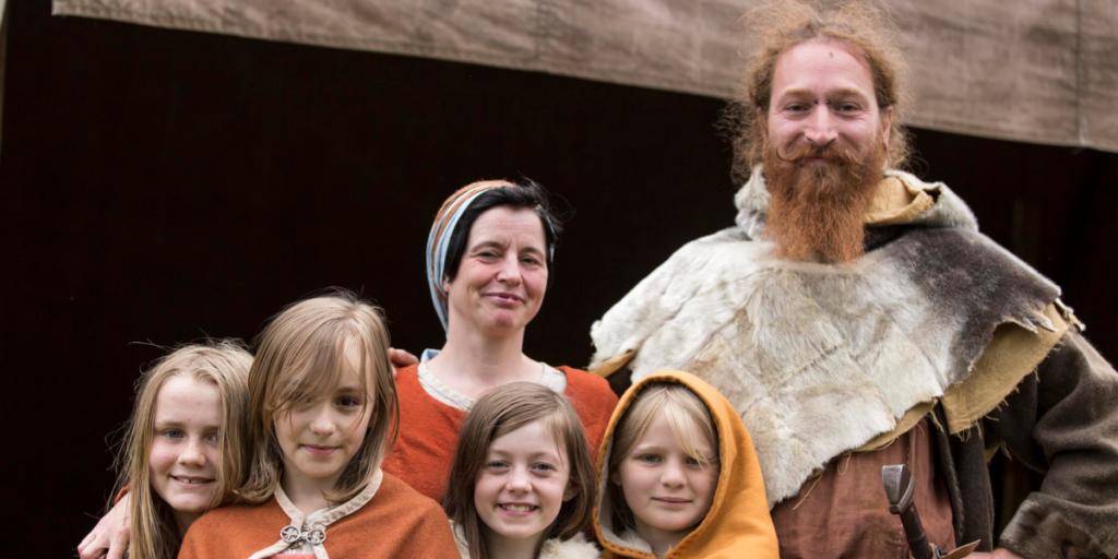 Hvordan mennesker gik klædt i vikingetiden